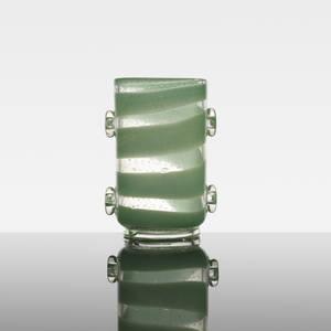 Ercole Barovier   Con applicazioni vase