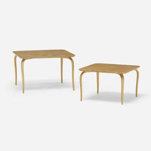 Bruno Mathsson   occasional tables pair