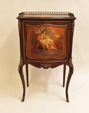 Late 19th C French Bronze Mounted Cabinet