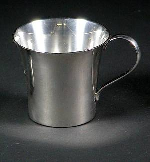 92 Georg Jensen USA Sterling Silver Handled Cup