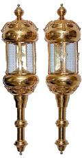 242 Monumental Pair of French Sconces