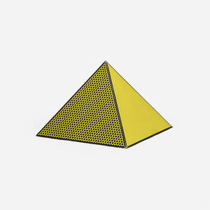 Roy Lichtenstein 19231997  Pyramid