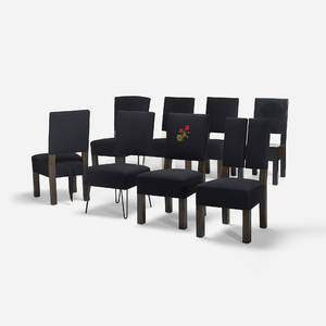 Roy McMakin   dining chairs set of eight