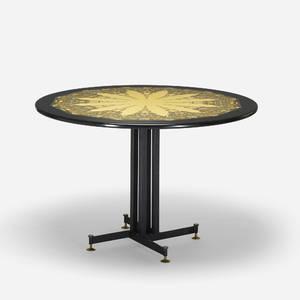 Piero Fornasetti   Piramide Umana dining table top