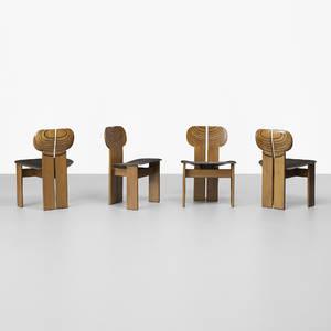 Afra and Tobia Scarpa   Artona chairs set of four