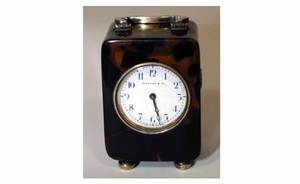 360 Antique Tiffany  Co Carriage Clock with 13