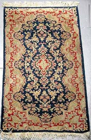 218 Hand Knotted Persian Kerman Rug