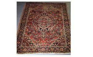 402 SemiAntique Persian Josan Sarouk Carpet