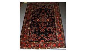 401 Antique Persian Mahajaran Sarouk Carpet We Will N