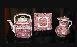 397 3 pcs Masons Vista Ironstone China 80120