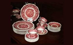 394 34 pcs Masons Vista Ironstone China 80120