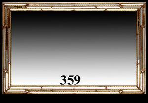 359 Large Mirror with Mirrored Frame