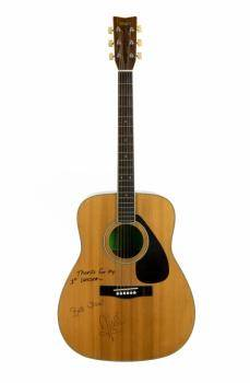 NIALL HORAN FIRST GUITAR SIGNED AND INSCRIBED