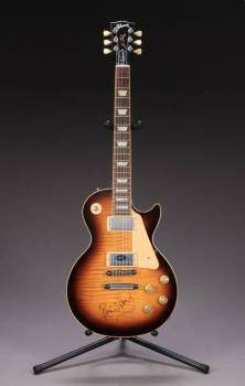 RON WOOD SIGNED GIBSON LES PAUL