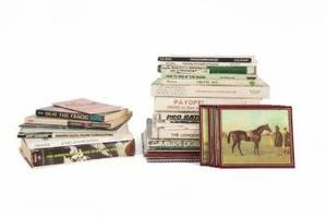 MICKEY ROONEY HORSE RACING BOOKS AND EPHEMERA