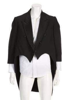 MICKEY ROONEY WORN TUXEDO TAILCOAT AND SHIRT