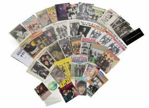 RINGO STARR SHEET MUSIC MAGAZINES  EPHEMERA
