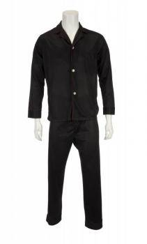 ELVIS PRESLEY BLACK AND RED PAJAMAS