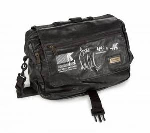 MICHAEL JACKSON SIGNED 1988 TOUR BAG
