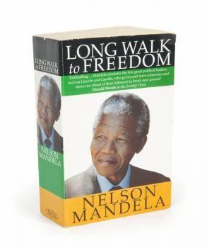 NELSON MANDELA SIGNED BOOK