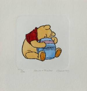 A GROUP OF FOUR SOWA  REISER CHARLES SCHULZ PRINTS