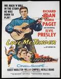 LOVE ME TENDER POSTER AND LOBBY CARDS