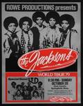 THE JACKSONS CONCERT POSTER