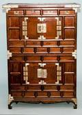 351 Asian Style Library Chest