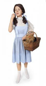 JUDY GARLAND WIZARD OF OZ LIFESIZE WAX MANNEQUIN