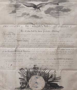 THOMAS JEFFERSON SIGNED 1808 NAVAL APPOINTMENT