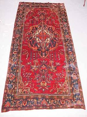 7 Hand Knotted Persian Rug