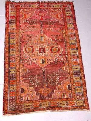 22 Antique Hand Knotted Persian Rug Restoration