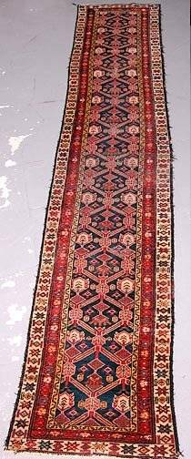 5 Hand Knotted Persian Runner