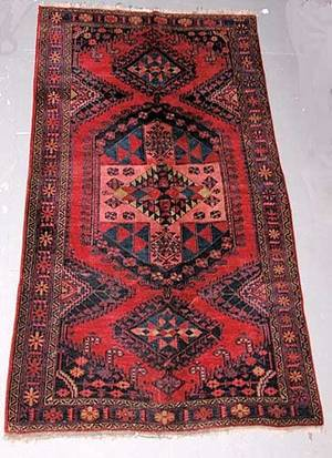 4 Hand Knotted Persian Prayer Rug