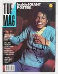 MICHAEL JACKSON SIGNED MAGAZINE
