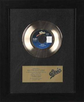 MICHAEL JACKSON INHOUSE RECORD AWARD