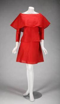 GLORIA SWANSON PIERRE CARDIN EVENING DRESS