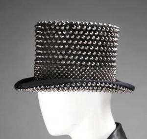 SLASH SUPERBOWL XLV PERFORMANCE WORN TOP HAT