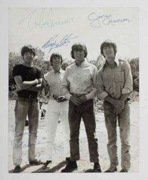THE BEATLES SIGNED PHOTOGRAPH