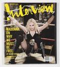 MADONNA SIGNED COPY OF INTERVIEW MAGAZINE