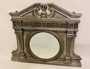 Architectural Cast Iron Mirror