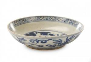 Chinese Export Low Bowl with Changming Mark