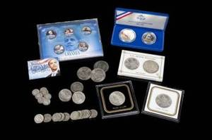 EVANDER HOLYFIELD OWNED COLLECTIBLE COINS