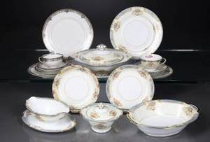 PARTIAL SET OF NORITAKE DINNERWARE