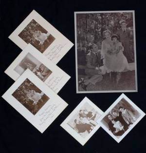 PICKFORD AND ROGERS FAMILY HOLIDAY CARDS