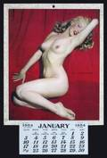 MARILYN MONOE 1954 GOLDEN DREAMS CALENDAR