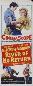 RIVER OF NO RETURN INSERT WITH ROBERT MITCHUM AND