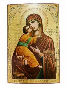 RUSSIAN ICON VLADIMIR MOTHER OF GOD