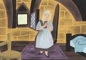 A WALT DISNEY ORIGINAL CONCEPT PAINTING BY MARY BL