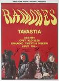 RAMONES SIGNED POSTER